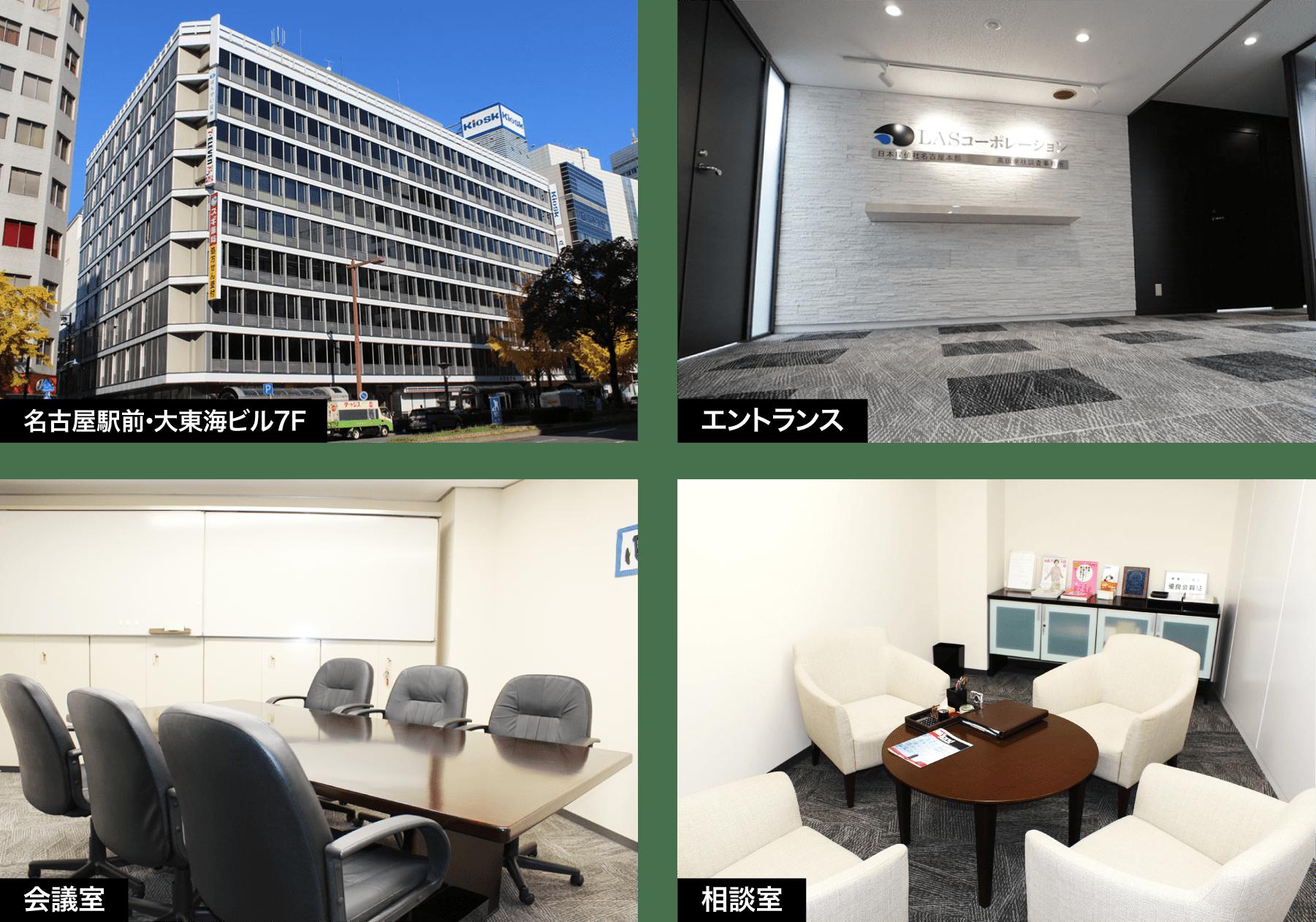 名古屋の解決探偵、高田幸枝調査事務所概要・アクセス