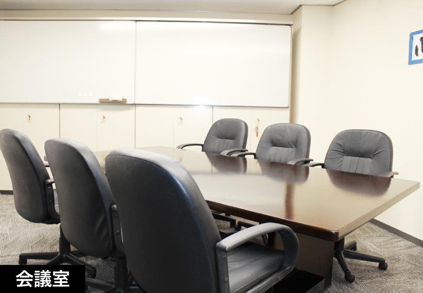 名古屋の解決探偵、高田幸枝調査事務所会議室